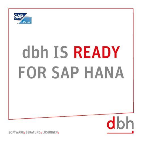 dbh ist SAP S/4 HANA ready
