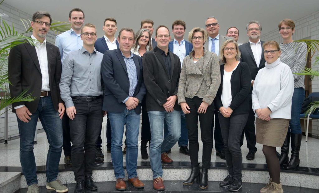 "Leinen los: The team of ""binntelligent"" met on October 30th for the joint kick-off event (Source: ISL)"