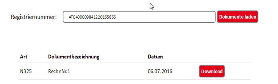 dbh Dokumenten Cloud für Zollanmeldungen 3