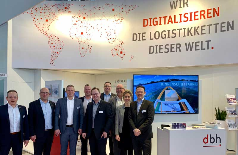 LogiMAT 2020 – dbh presents IT solutions for efficient and end-to-end transport chains