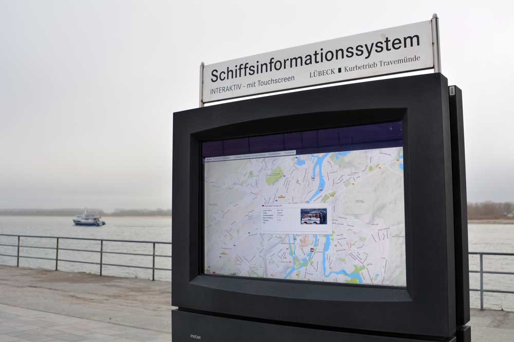 KIOSK Touristeninformation