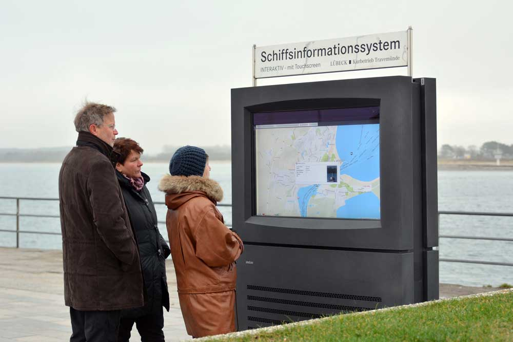 KIOSK Touristeninformation