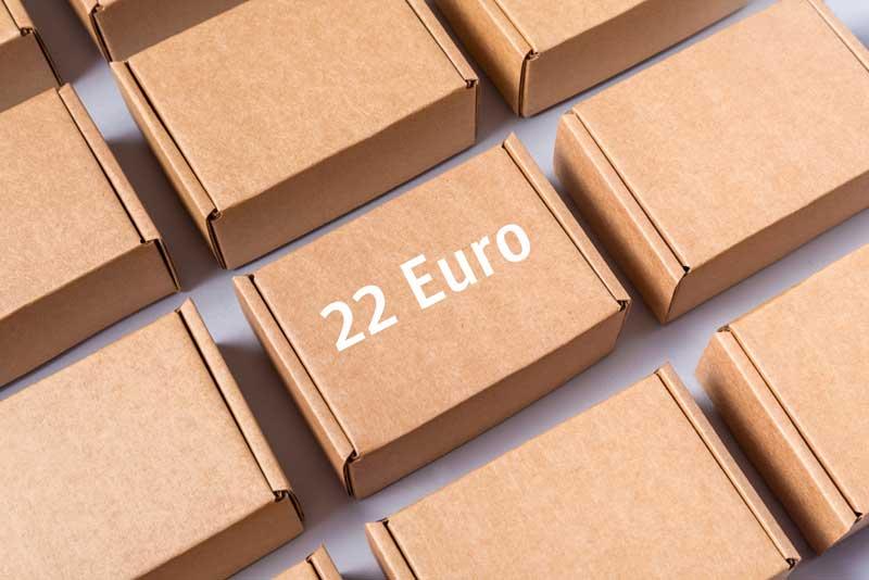Mehrwertsteuerreform: Importverfahren für Kleinsendungen unter 22 Euro 1