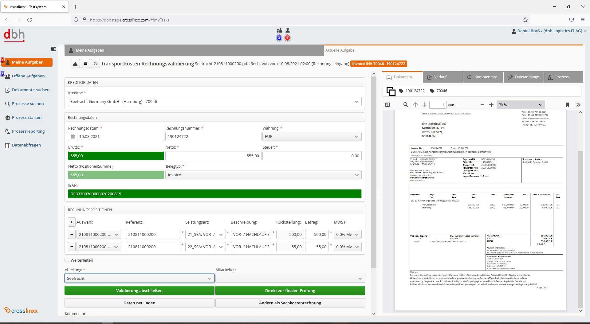 Advantage Invoice Management 1